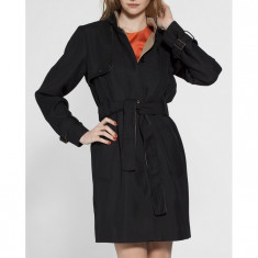Trench Dama French Connection Negru 4981-KPD014, Marime: 42, Culoare: Din imagine