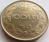 Moned 100 Lei - ROMANIA / REGAT, anul 1943 *cod 3811