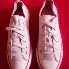 Converse All Star originali, low top, mr.39-24, 5 cm. - Tenisi barbati Converse, Culoare: Alb, Textil