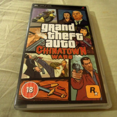 Grand Thef Auto China Town Wars, GTA, PSP, original, alte sute de jocuri! - Jocuri PSP Rockstar Games, Actiune, 18+, Single player