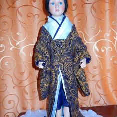 Papusa portelan japoneza Kioko-superba! - Papusa de colectie
