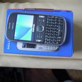 Nokia asha302, livrare gratuita posta romana - Telefon mobil Nokia Asha 302, Gri, Vodafone