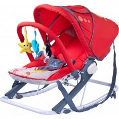 Scaun balansoar pentru bebelusi CARETERO AQUA SBCA-R - Leagan
