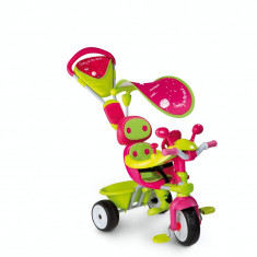 Tricicleta Baby Driver Confort Fete Smoby 3 in 1 7600434118 - Tricicleta copii