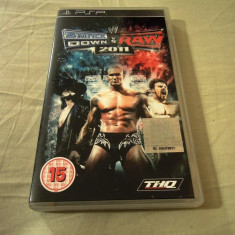 WWE Smack Down vs Raw 2011, PSP, original, alte sute de jocuri!, Sporturi, 16+, Single player, Thq