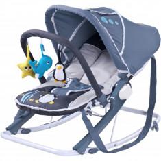 Scaun balansoar pentru bebelusi CARETERO AQUA SBCA-G - Leagan