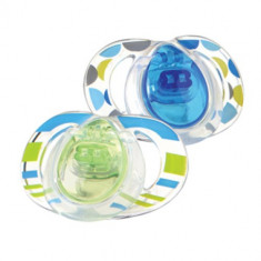 Set suzete ortodontice din silicon Tommee Tippee Closer to Nature Style 9-18 luni 43333864 - Suzeta