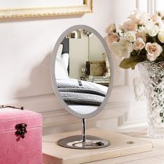 Oglinda ovala pentru machiaj