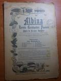revista albina 23 aprilie 1900-art. despre expozitia de la paris,turnul eiffel