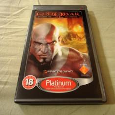 God of War Chains of Olympus, PSP, original, alte sute de jocuri! - Jocuri PSP Sony, Actiune, 18+, Single player