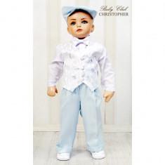 Costum elegant pentru baieti Christopher Baby Club 3221C