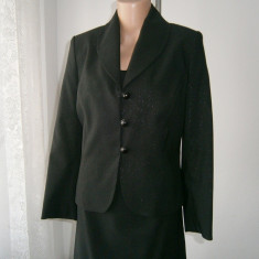 Costum de dama 2 piese,rochie si sacou,marca Brise,mar M!