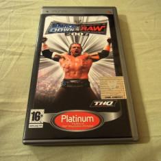 WWE Smack Down vs Raw 2007, PSP, original, alte sute de jocuri! - Jocuri PSP Sega, Sporturi, 3+, Single player