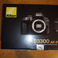 Nikon D3300 AF-P DX, OBIECTIV 18-55MM SIGILAT! ACTE ACHIZIȚIE! - Aparat Foto Nikon D3200