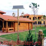 Stalp Solar Fotovoltaic de iluminat curte, gradina, alee, parcare