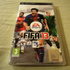 Fifa 13, PSP, original, alte sute de jocuri! - Jocuri PSP Ea Sports, Sporturi, 3+, Single player