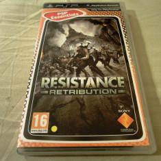 Resistance Retribution, PSP, original, alte sute de jocuri! - Jocuri PSP Sony, Shooting, 16+, Single player