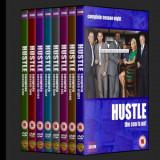 Hustle Escrocii 2004 8 sezoane DVD - Film serial Altele, Actiune, Romana