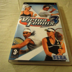 Virtua Tennis 3, PSP, original, alte sute de jocuri!, Sporturi, 3+, Single player, Sega