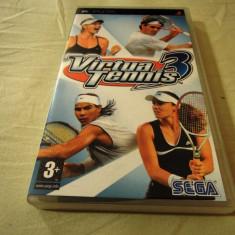 Virtua Tennis 3, PSP, original, alte sute de jocuri! - Jocuri PSP Sega, Sporturi, 3+, Single player