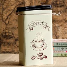 Cutie metalica pentru cafea - Cutie Reclama