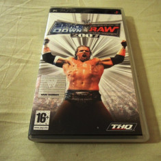 WWE Smack Down vs Raw 2007, PSP, original, alte sute de jocuri! - Jocuri PSP Thq, Sporturi, 16+, Single player