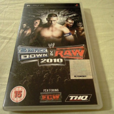 WWE Smack Down vs Raw 2010, PSP, original, alte sute de jocuri! - Jocuri PSP Thq, Sporturi, 16+, Single player