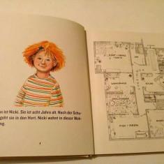 Carte pentru copii, in limba germana, Um 6 kommt Meier, Doris Rogner, 92 pag - Carte in germana