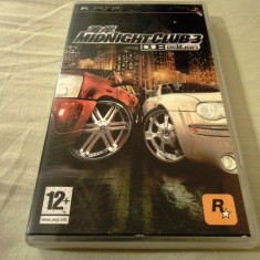 Midnight Club 3 Dub Edition, PSP, original, alte sute de jocuri! - Jocuri PSP Rockstar Games, Curse auto-moto, 12+, Single player