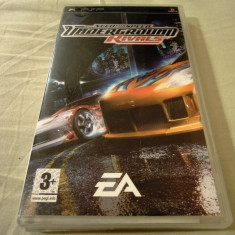 Need For Speed Underground Rivals, NFS, PSP, original, alte sute de jocuri! - Jocuri PSP Electronic Arts, Curse auto-moto, 12+, Single player