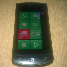 WINDOWS PHONE LG OPTIMUS 7 E900 16 GB LIBER DE RETEA PERFECT FUNCTIONAL - Telefon LG, Negru, Neblocat, Single SIM, Single core