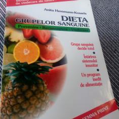 Slabiti Cu Dieta Grupelor Sanguine De Anita Hessmann Kosaris