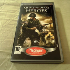 Medal of Honor Heroes, PSP, original, alte sute de jocuri! - Jocuri PSP Sony, Actiune, 3+, Single player