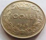 Moned 100 Lei - ROMANIA / REGAT, anul 1943 *cod 3799