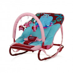 Scaun balansoar pentru bebelusi 4Baby Jungle SB4BJ-A - Leagan