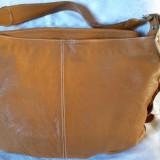 Geanta piele Made in Italy - Geanta Dama, Culoare: Orange, Marime: Mare