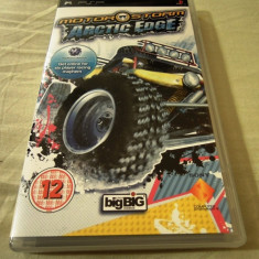Motorstorm Arctic Edge, PSP, original, alte sute de jocuri! - Jocuri PSP Sony, Curse auto-moto, 12+, Single player