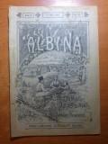 revista albina 30 mai 1899-art. com. paltinis ,botosani,foto palatul regal