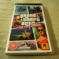 Grand Thef Auto Vice City Stories, GTA, PSP, original, alte sute de jocuri! - Jocuri PSP Rockstar Games, Actiune, 18+, Single player