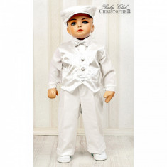 Costum elegant pentru baieti Christopher Baby Club 3221B