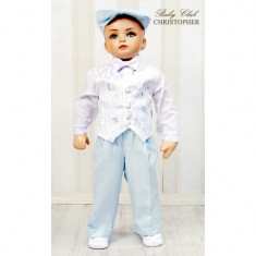 Costum elegant pentru baieti Christopher Baby Club 3221D
