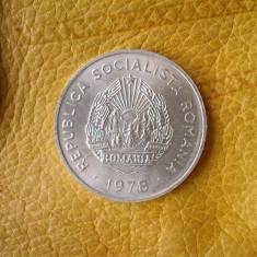 5 LEI 1978 UNC NEATINSE DIN FISIC - Moneda Romania, Aluminiu