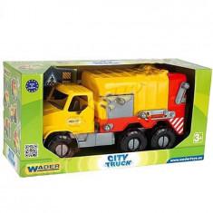Jucarie Masina de gunoi City Truck-WADER J15195 - Vehicul