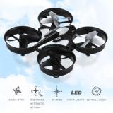 Mini Drona Rezistenta cu Protectie la Elice ideala pentru incepatori
