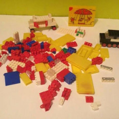 Joc vechi de constructie, marca Polly, West Germany anii 70 (tip lego) - Joc colectie