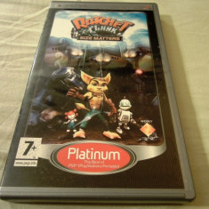 Ratchet and Clank Size Matters, PSP, original, alte sute de jocuri! - Jocuri PSP Sony, Actiune, 3+, Single player