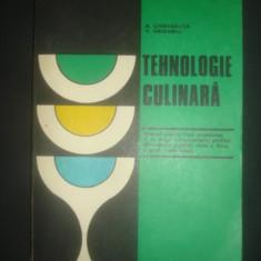 A. CHIRVASUTA, V. GRIGORIU - TEHNOLOGIE CULINARA  {1979}, Alta editura