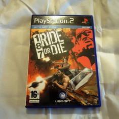 187 Ride or Die, PS2, original! Alte sute de jocuri! - Jocuri PS2 Ubisoft, Curse auto-moto, 16+, Single player