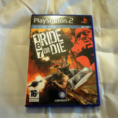 187 Ride or Die, PS2, original! Alte sute de jocuri! - Jocuri PS2 Ubisoft, Curse auto-moto, 16+, Single player