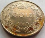 Moned 100 Lei - ROMANIA / REGAT, anul 1943 *cod 3816
